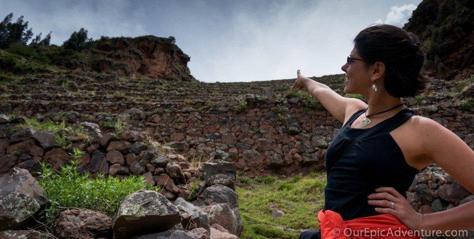 Incan ruins, Pisac, Peru
