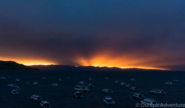 Sunset-over-lake-titicaca