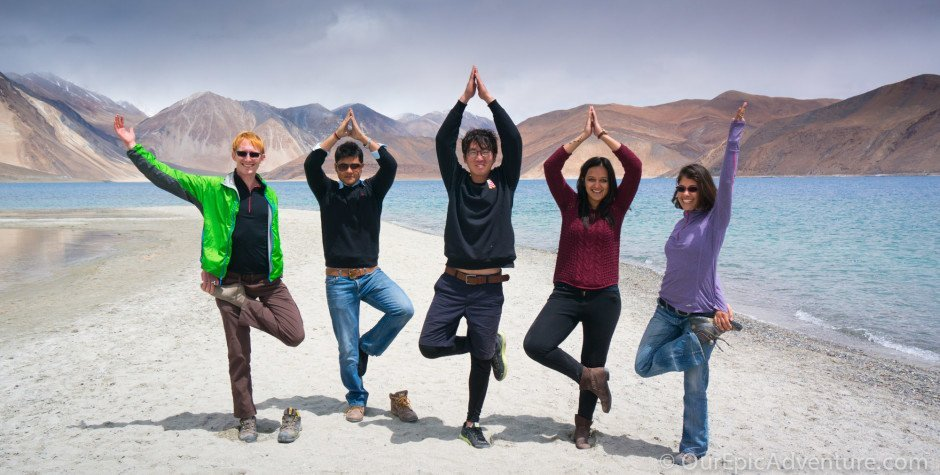 Are we really in India?  A trip to Pangong Lake
