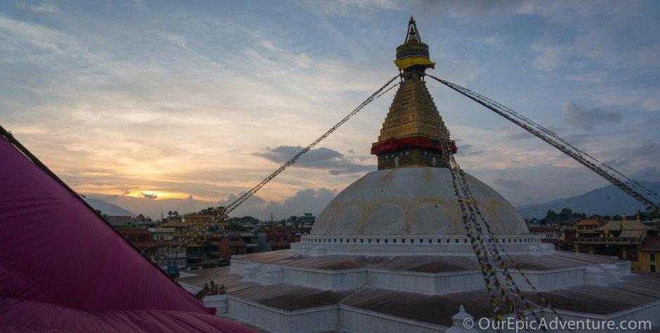 Our Nepali Homebase in Boudha