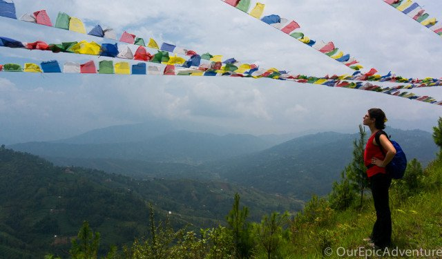 Clouds, clouds, and more clouds:  The Kathmandu Valley Cultural Trek