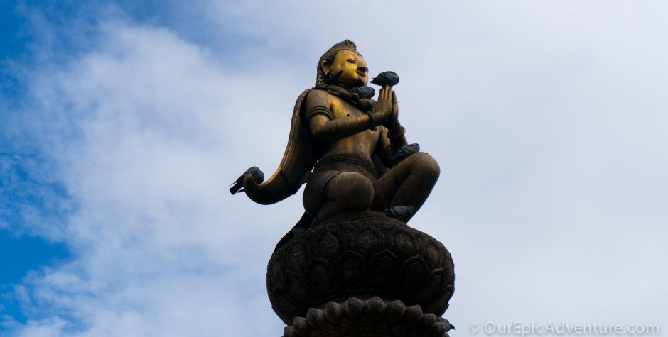 The temples and street scenes of Patan, Nepal