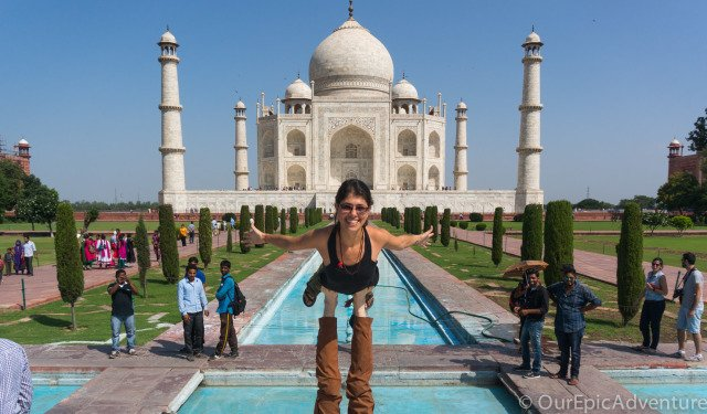 The Taj Mahal: Tourist trap but totally worthwhile