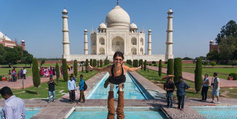 The Taj Mahal: Tourist trap but totally worthwhile
