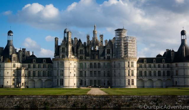 A drive by the castles of Loire