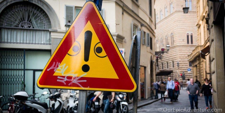 Benvenuto a Italia!  Or, 48 hours in Firenze!